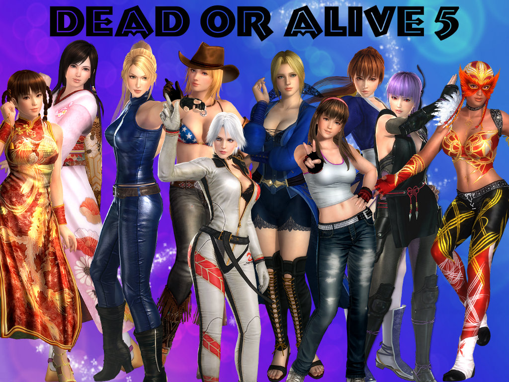 dead or alive girl characters nude