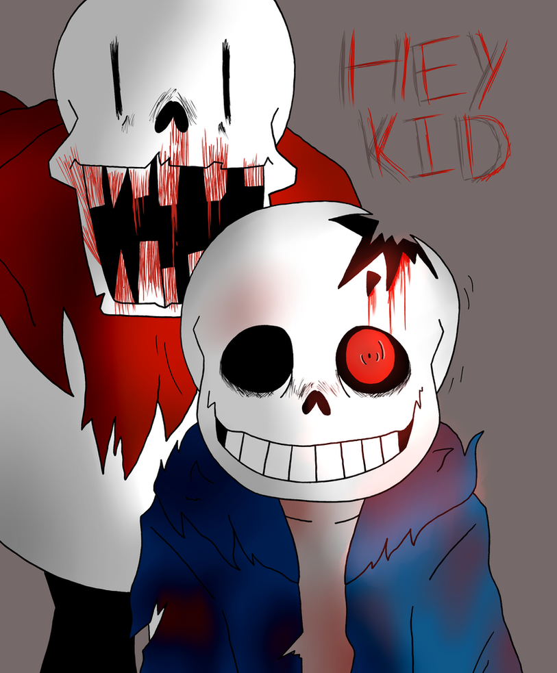 Horrortale Sans And Papyrus By Paperplushie On Deviantart