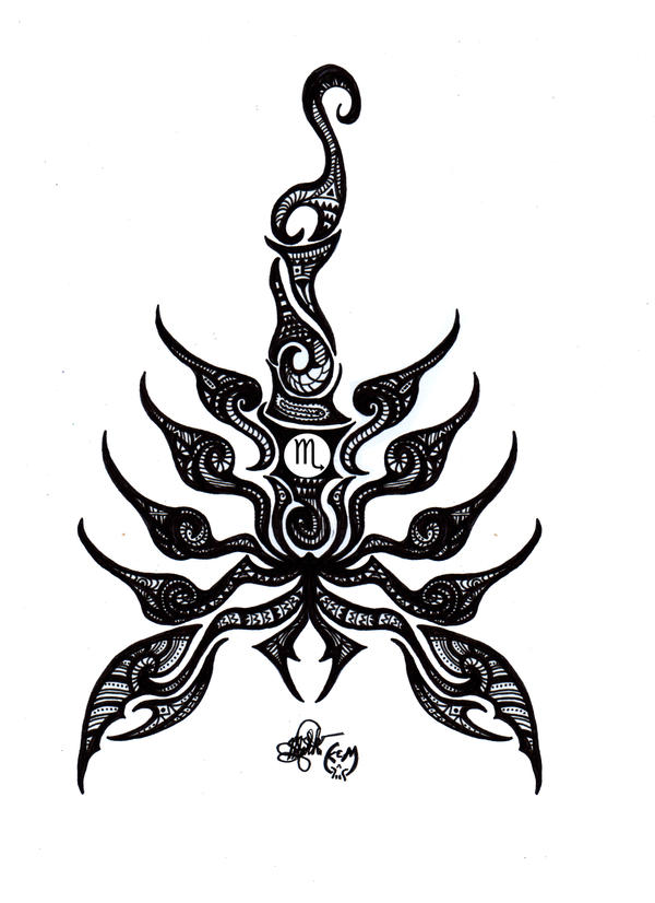 Maori Scorpion by KORANenMERG on DeviantArt
