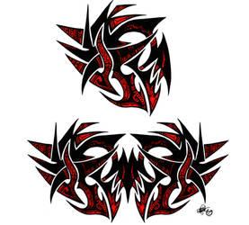 Maori single and double design by KORANenMERG
