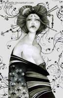 Geisha by Renouille