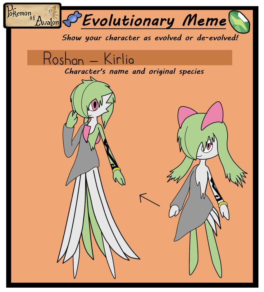 PoA Evolution Meme by pokestar249