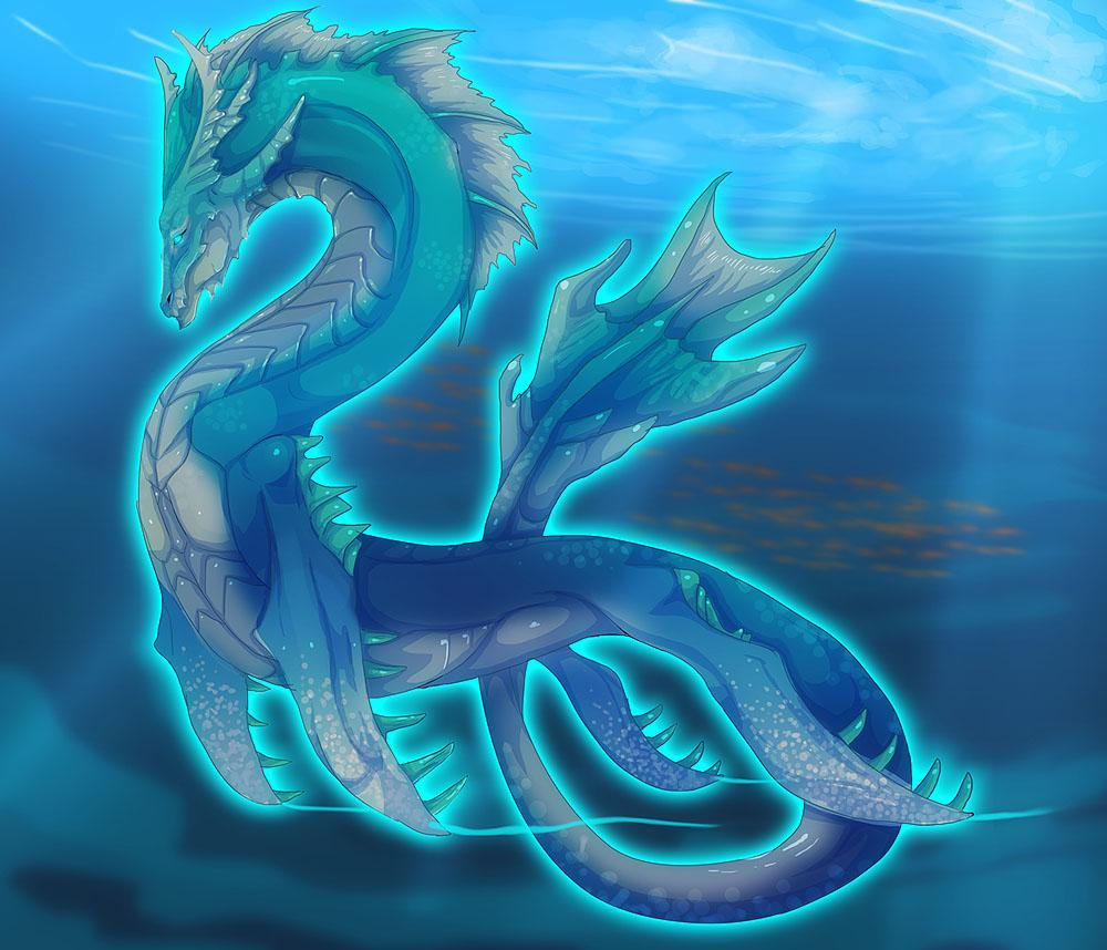 Mythical Sea Dragon