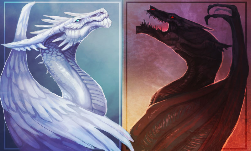 Two opposites by magmi