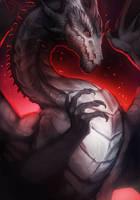 Dark dragon by magmi