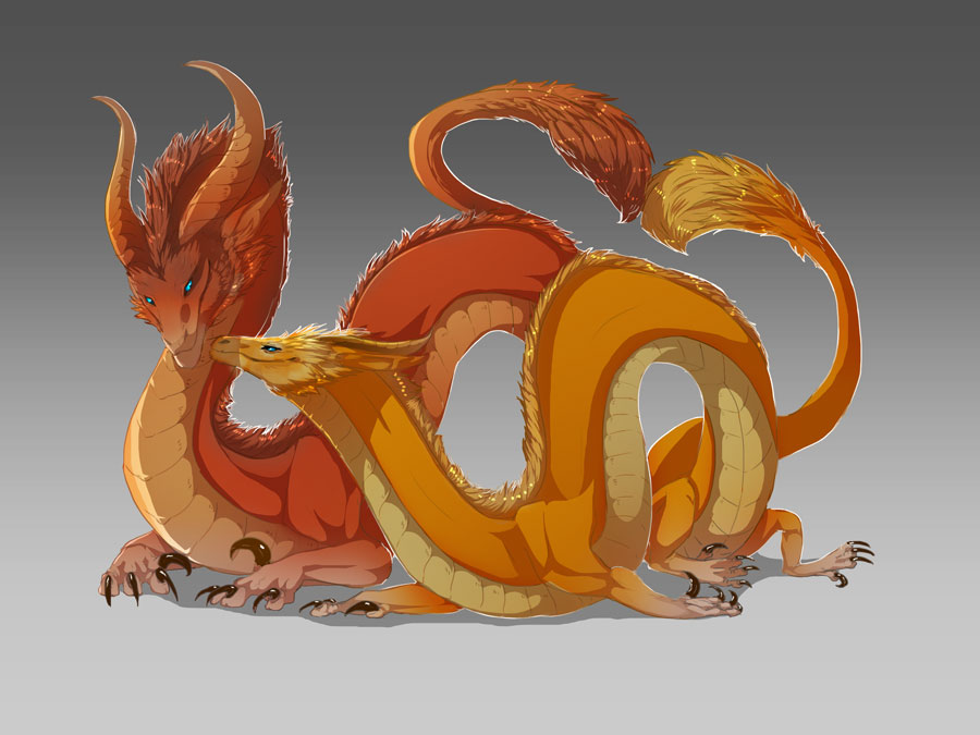 orange glow dragons wallpaper - photo #29
