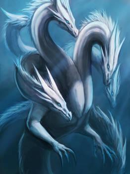 Underwater Hydra Dragon