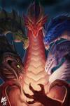 Tiamat from Dungeons and Dragons