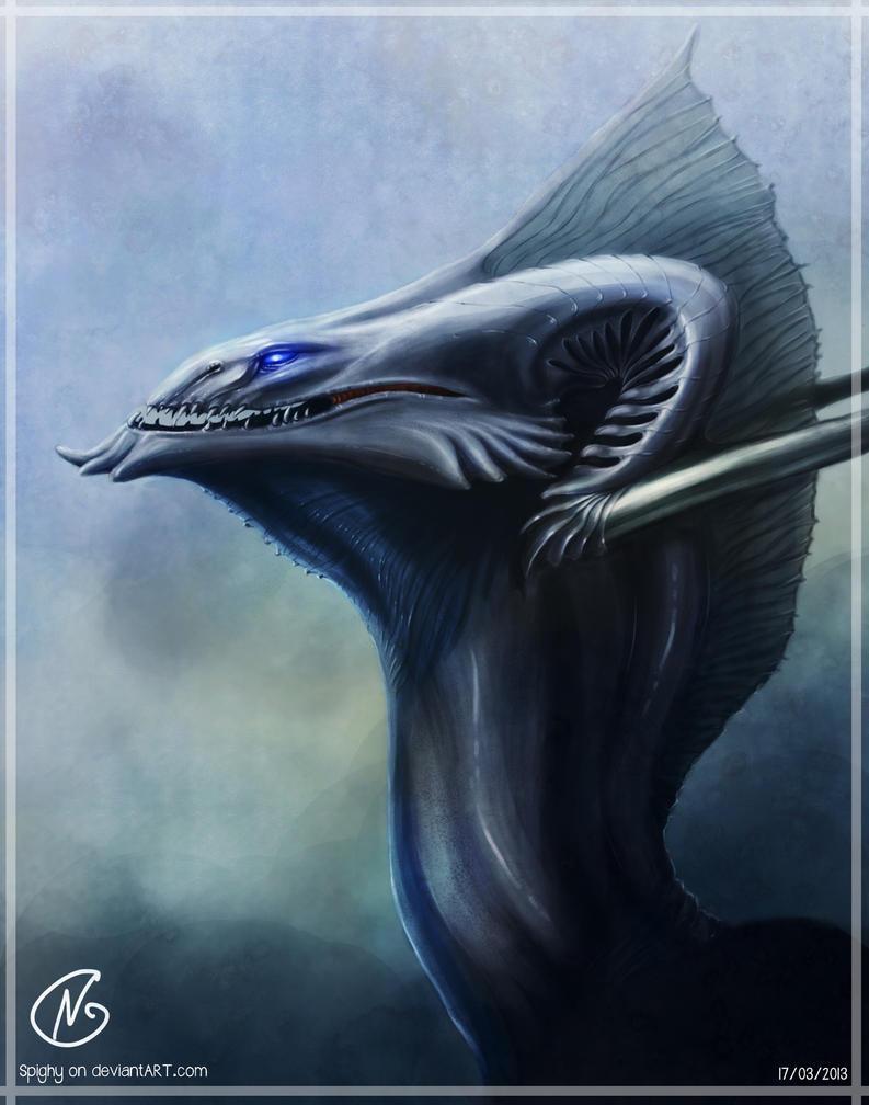 Dragon final by Spighy