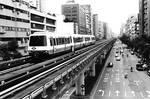 Cliche Metrorail Cityscape by bQw