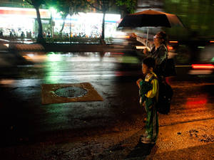 Nighttime Taxi Call