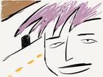 Purple Hair by bQw