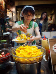 Taiwanese Mango Shaved Ice