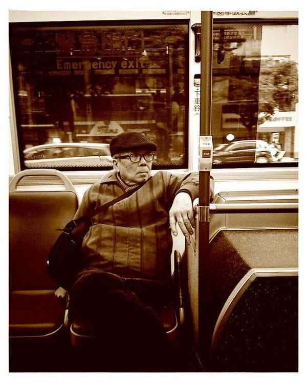 Casual Bus Rider by bQw