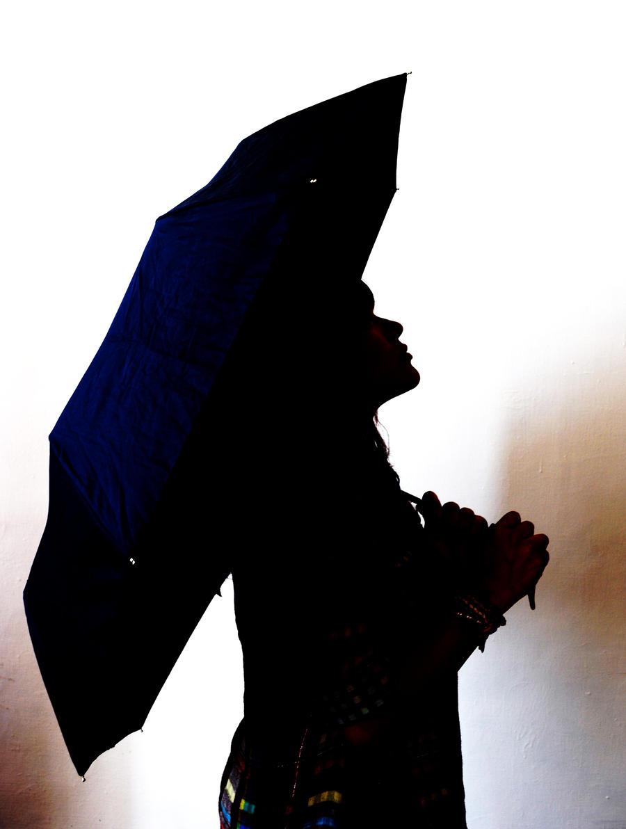 Silueta de mujer hermosa by rockeda on DeviantArt