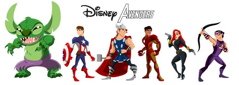 Disney Avengers, Assemble