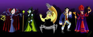 Super Villains Mashup