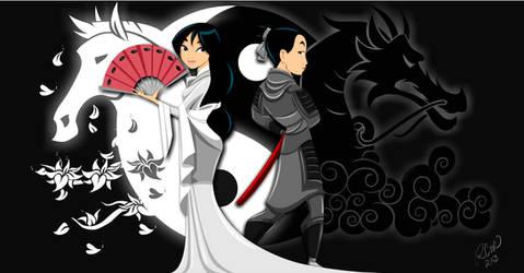 Identities of Mulan by racookie3