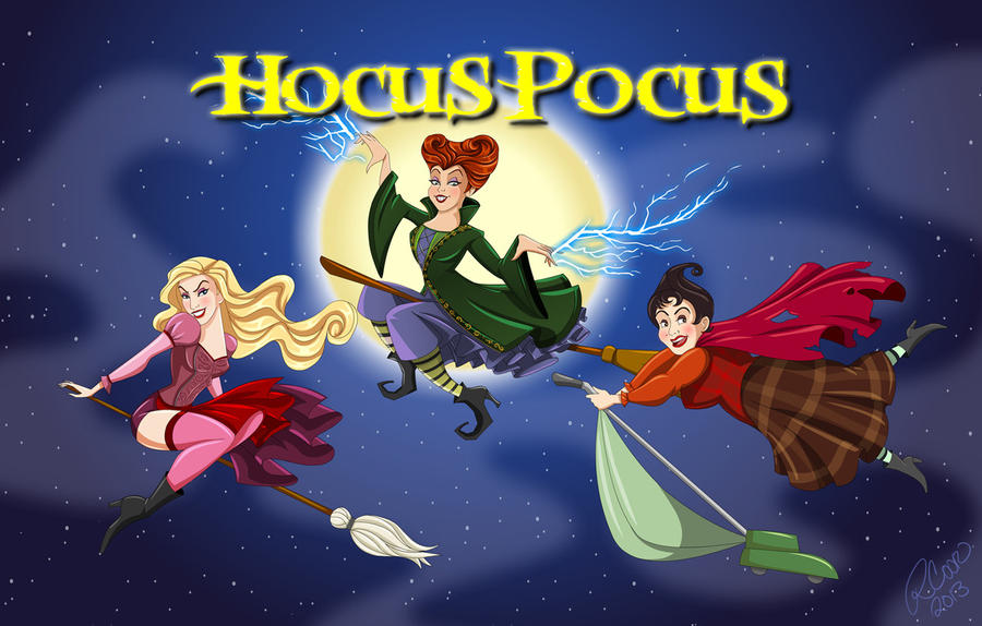 Hocus Pocus by racookie3 on DeviantArt
