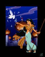 Princess Jasmine by racookie3