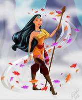 Airbender Pocahontas by racookie3