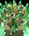 Snow White and the Seven Earth Benders