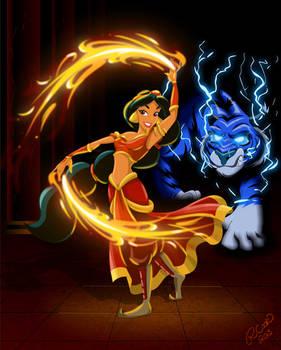 Firebender Princess Jasmine
