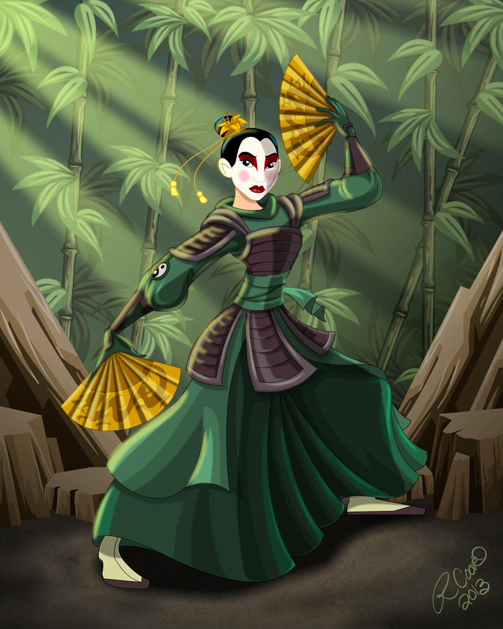 The Last Airbender Avatar Kyoshi: Mulan Of The Kyoshi Warriors By Racookie3 On DeviantArt