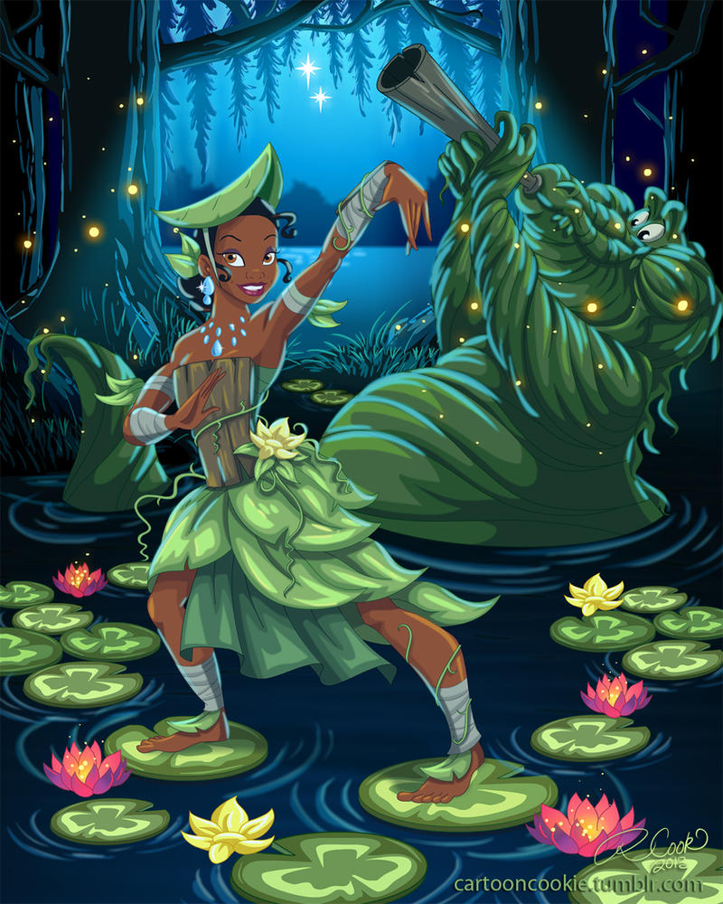 Swamp Bender, Tiana by racookie3