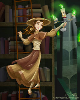 Belle and the Mystical Library