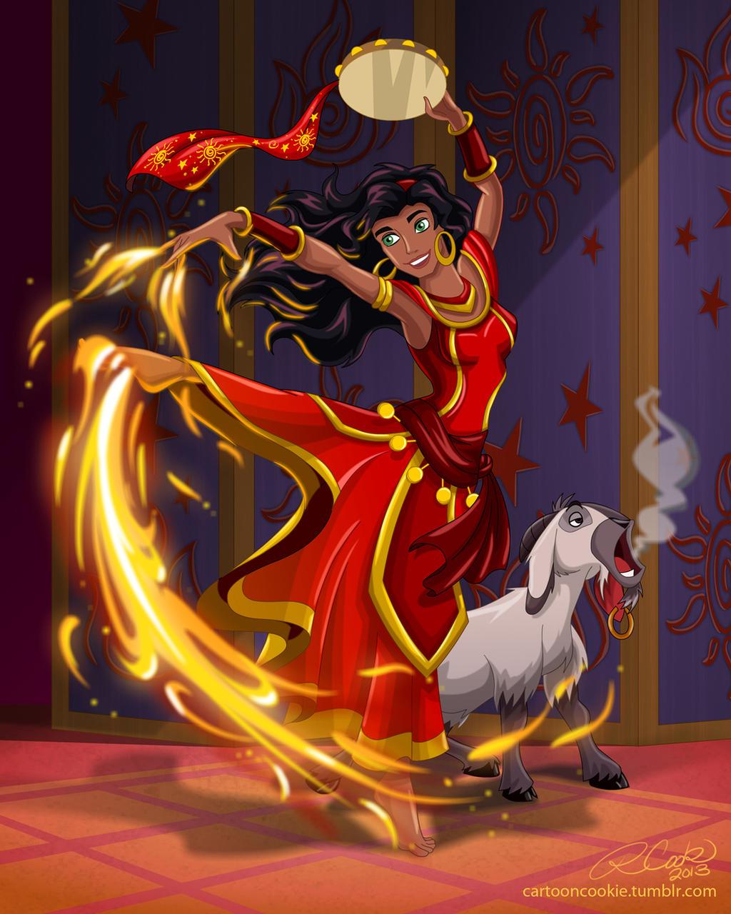 Firebender Esmeralda by racookie3