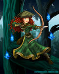 Merida of the Freedom Fighters