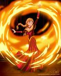 Firebender Anna