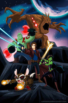 Disneyfied Guardians of the Galaxy