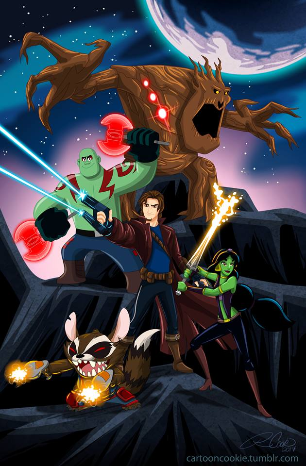 Star Lord And Rocket Raccoon By Timothygreenii On Deviantart: Disneyfied Guardians Of The Galaxy By Racookie3 On DeviantArt