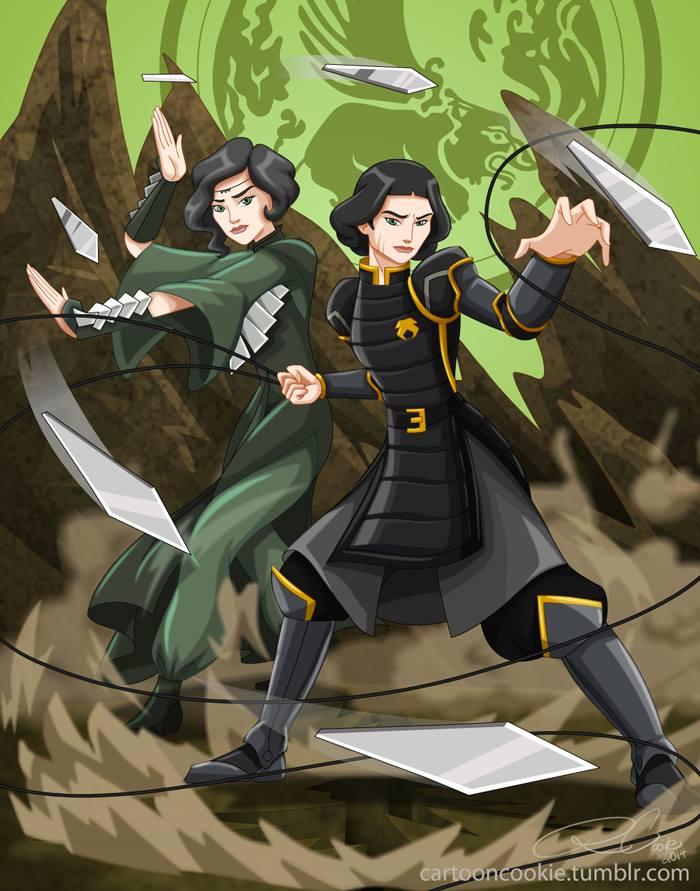 Beifong Sisters by racookie3