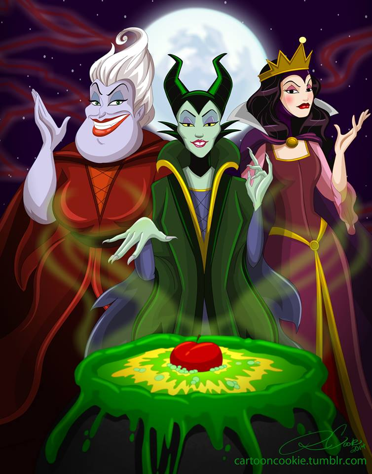 Sanderson Sister Villains by racookie3