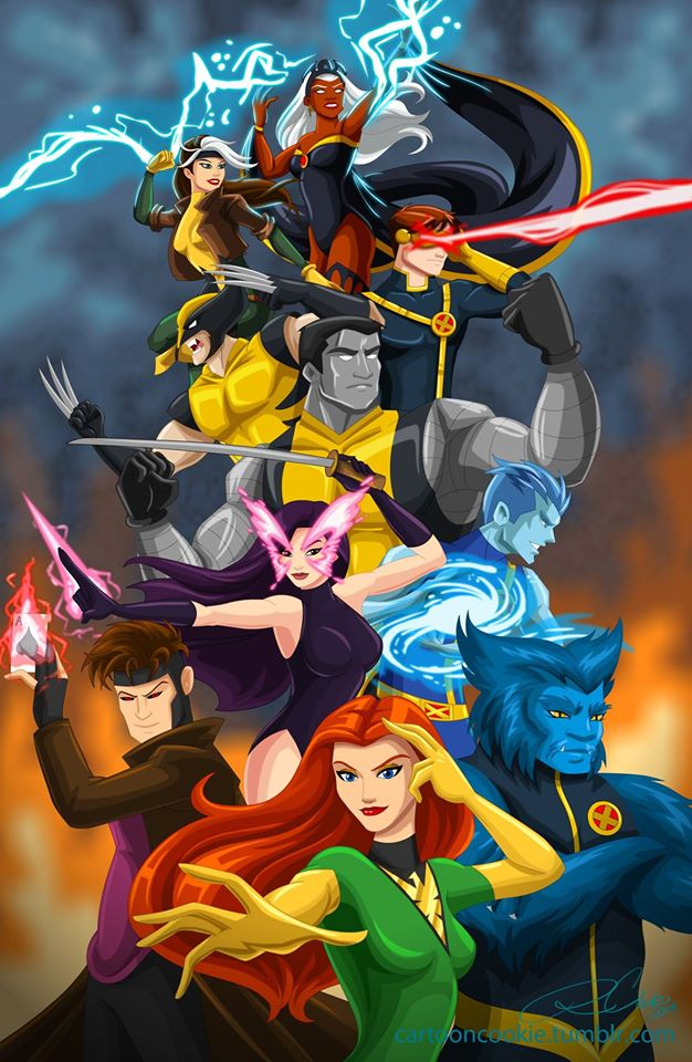 X-men by racookie3