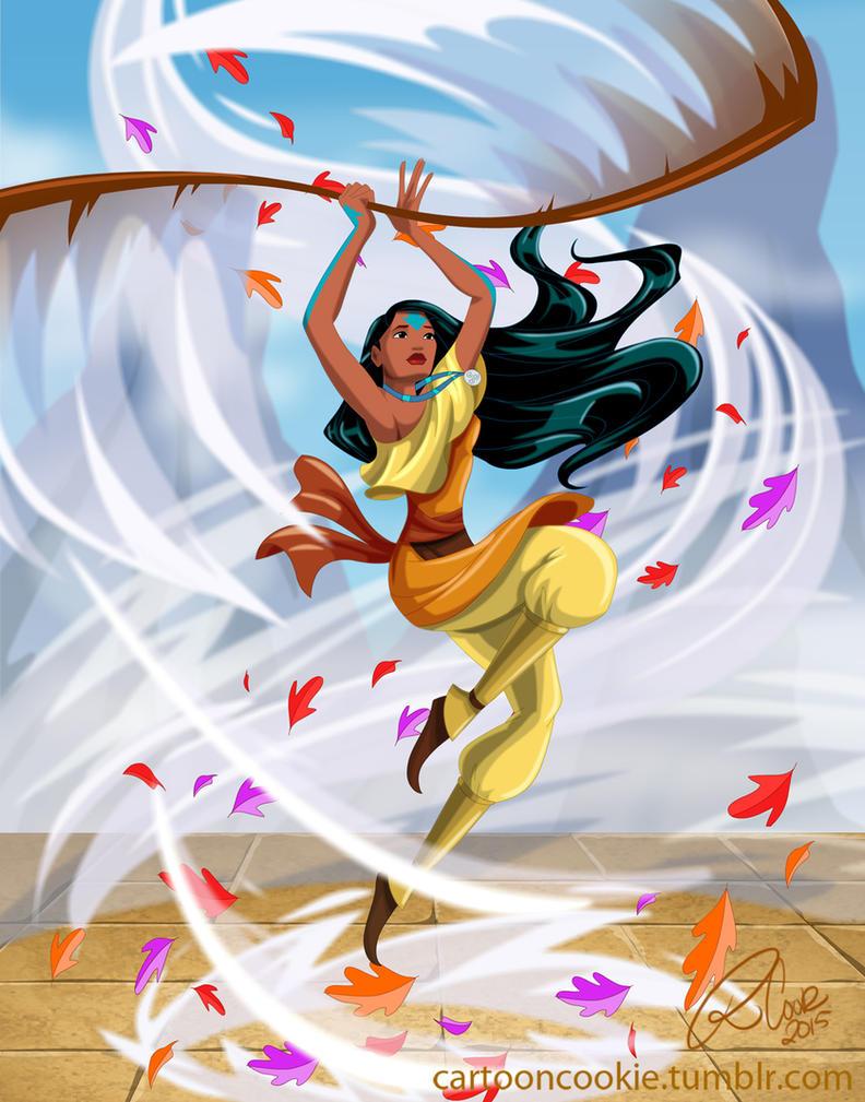 Airbender Pocahontas 02 by racookie3