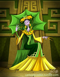 Earth Queen Yzma by racookie3