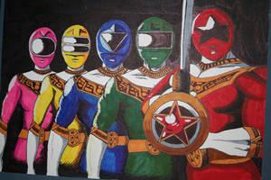 Power Rangers: Zeo by racookie3