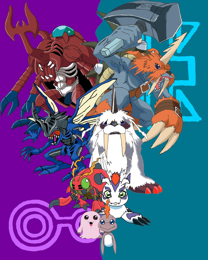 Digimon Wallpaper: Joe And Izzy's Digimon By Racookie3 On DeviantArt