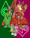Sora and Mimi's Digimon