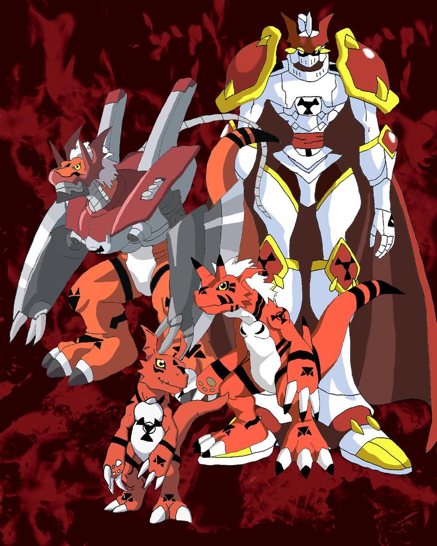 Every Digimon Season 4 Digivolutions - GenYoutube.net