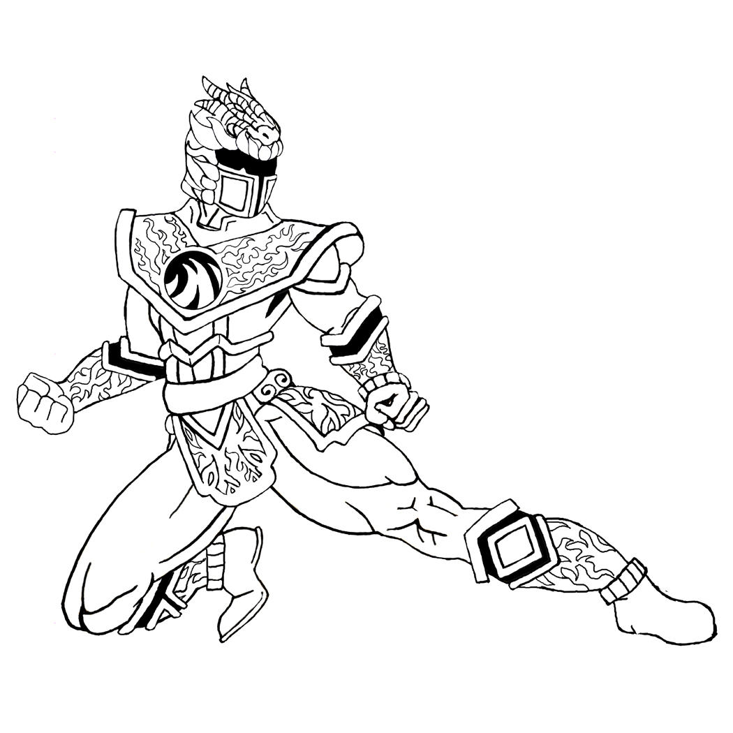 Power Ranger Mystic Force - Free Coloring Pages