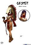 Caster Class - Pocahontas