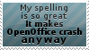 OpenOffice stamp