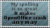 OpenOffice stamp by bigfunkychiken