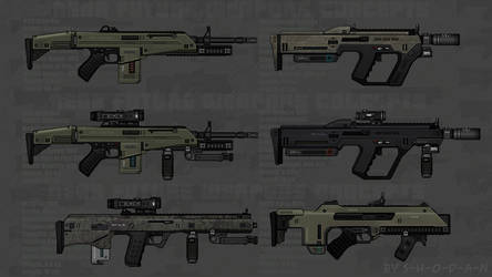 Near Future Weapon Concepts 03 by S-H-0-D-A-N