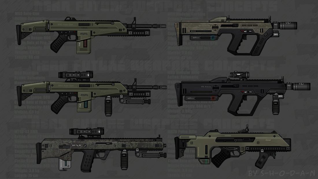 Future Weapon Concepts